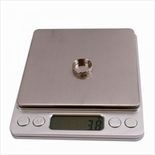 Mini Digital Stainless Steel Weighting Scale 500g x 0.01