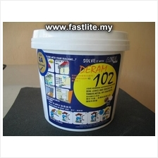 Waterproofing liquid coating as leak sealant, adhesive & bonding agent
