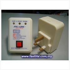 Power Socket & ELCB Tester (150mA) - PVC-Link