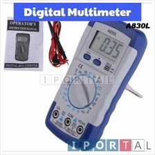 A830L Digital Multimeter DC AC Current Volt Voltage Meter Tester