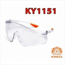 KY1151 KINGS Safety Goggles Clear Safety Eyewear Safety Glass