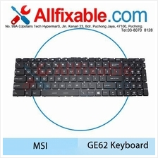 MSI GE62, GP72-6QF 7RE GS60-2PL 2PE Leopard Pro GS70-2OD GS72 Keyboard