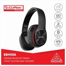 CLiPtec AIR-M ùZIK2 Bluetooth 5.0 Wireless Stereo Headset BBH506