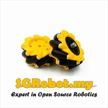 Robot Smart Car 80mm Omnidirectional Mecanum Wheel L+R