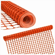 Orange PP Plastic Safety Mesh Fence Barrier Netting 1 Meter x 45 Meter