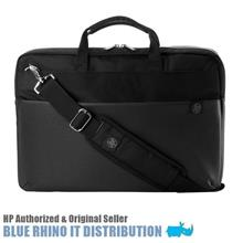 "HP 15.6"" Duotone Laptop Briefcase - Black & Silver (4QF95AA)"