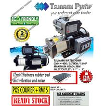 Tsunami CMH4-40K Home Pump Water Pump (1.0HP) INLET 1.2'OUTLET 1'  2 Y