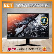 "Acer KG271B 27 "" Full HD 240Hz 1ms G-Sync Compatible Gaming Monitor"