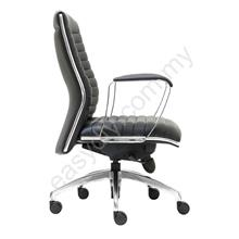 Leather / Fabric Office Chair / Conqueror Low Back Chair E 2013H