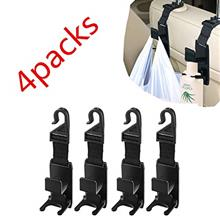 [From USA]Amlrt Car Front Back Seat Headrest Hanger Hooks 4 Pack for Handbags