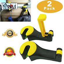 [From USA]Car Headrest Hook Universal Car Phone Holder Upgrated 2 in 1 by Stro