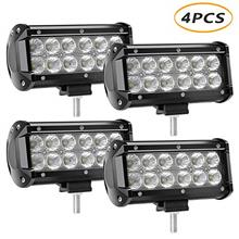 [From USA]4 X 36w 3600 Lumens LED Light Bar YEEGO Cree LED Flood Lights for Of