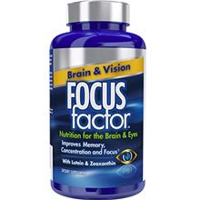 [USA Shipping]Focus Factor Brain  & Vision - Eye Vitamin  & Mineral Su