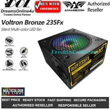 Armaggeddon Voltron Bronze 235FX Gaming Power Supply Unit 12cm FAN