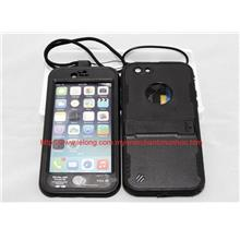 Black IP68 Dustproof, Shockproof, Waterproof Swim Case Bag iPhone 6
