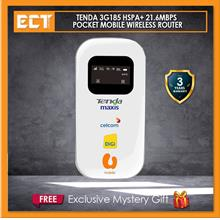 Tenda 3G185 HSPA+ 21.6mbps Pocket Mobile Wireless Router