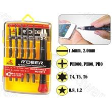 11-IN-1 PRECISION SCREWDRIVER SET FOR IPHONE / IPAD (RD9213)
