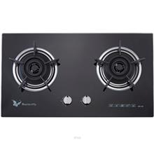 Butterfly 2 Burner Glass Hob - BG-2K