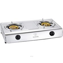 Butterfly Stainless Steel Double Gas Stove - BGC-938/305