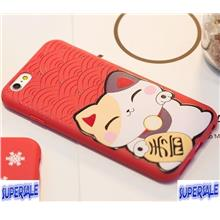 iPhone 6 / 6 Plus Lucky Cat Casing Case Cover [Delivery 5-9days]