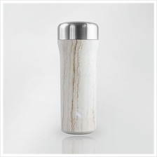 SWANZ 400ml Starlet Maple Wood Porcelain Tumbler SY-082W