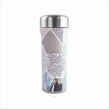 SWANZ 400ml 3D Starlet Fantasie Light Porcelain Tumbler SY-082FA