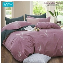 Essina Valencia 100% Cotton 620TC Fitted Bedsheet Set - Queen (Lavender Pink))