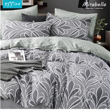 Essina Valencia 100% Cotton 620TC Quilt Cover Set - Queen (Mirabella))