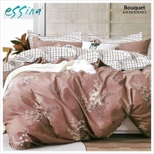Essina Valencia 100% Cotton 620TC Comforter Set - King (Bouquet))