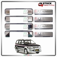 Toyota Unser Door Handle Cover Garnish Trim Stainless Steel (CHROME OU