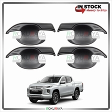 Mitsubishi Triton Facelift 2019 Door Handle Cover Garnish Trim ABS Pla