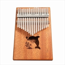 17Keys Portable Thumb Piano Pocket Instrument Kalimba Finger Piano Mbira Small