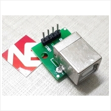 USB Type B Female To 2.54mm Header Adaptor Board