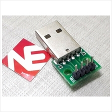 USB Type A Male To 2.54mm Header Adaptor Board