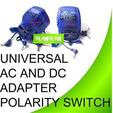 Universal AC-DC Adapter 500ma with Polarity Switch