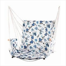 Hammock Chair Canvas Fabric Hanging Portable Cradle Leisure Camping
