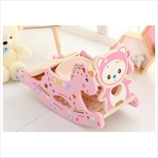 Children Rocking Horse Trojan Plastic Baby Thickening Toys Music
