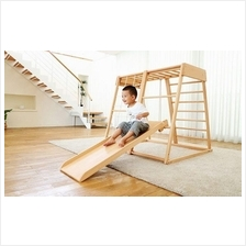 Faroro Wood Slide Children Baby Toddler Climb Indoor Fun Kid Stairs
