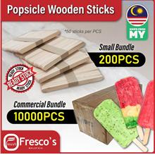 Popsicle ice cream stick wooden Small Bundle 200pcs