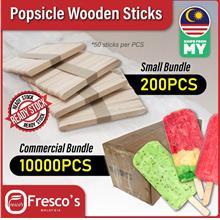 Popsicle ice cream stick wooden Small Bundle 200pcs