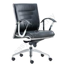 Leather | Fabric Office Chair | Tech Low Back Chair - E 738H