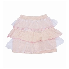 2-8Y Fashion Pink Tulle Skirt For Kids