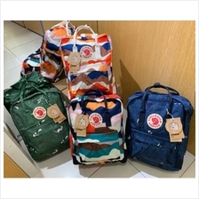 Unisex Colourful Backpack Fjallraven Kanken 23610