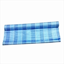 Blue White Canvas 6 Feet x 40 Feet Tarpaulin Canvas Roll (Blue/White)