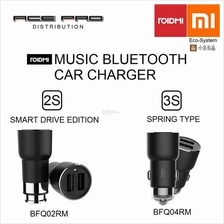 XIAOMI ROIDMI Mi Music Bluetooth Car Charger 2S / 3S - FM Transmitter