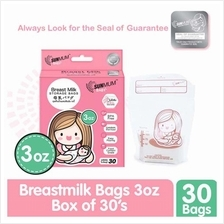 SUNMUM Baby Breast Milk Storage Bags (3oz) 30pcs