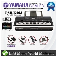 Yamaha PSR-E463 61 Keys Portable Keyboard Basic With Yamaha FC-5 Pedal (PSRE46
