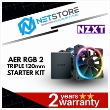 NZXT AER RGB 2 TRIPLE STARTING PACK 120mm COOLING FAN