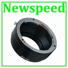 New Canon EOS EF Lens to SONY E Mount NEX Camera Body Adapter