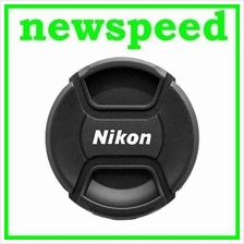 52mm 55mm 58mm 62mm Lens Cap for Nikon Lens Digital Camera